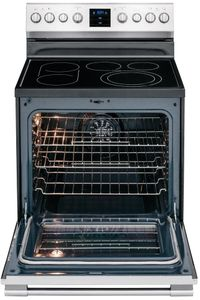 FPEF3077QF Frigidaire Professional 30'' Freestanding Electric Range with PowerPlus Convection - Smudge Proof Stainless Steel