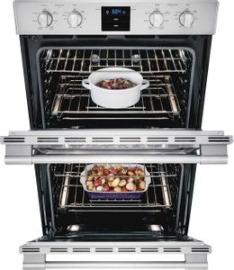 "FPET3077RF Frigidaire Professional 30"" Double Electric Wall Oven With 4.6 Cu Ft Dual Convection Ovens - Stainless Steel"