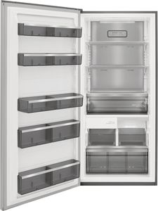 """FPFU19F8WF Frigidaire Professional 33"""" Built In Upright Counter Depth All Freezer - Smudge Proof Stainless Steel"""