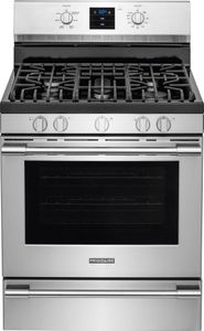 "FPGF3077QF Frigidaire Professional 30"" Freestanding Gas Range with Single-Fan Convection - Smudge Proof Stainless Steel"