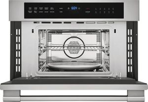 FPMO3077TF Frigidaire Professional Built-In Convection Microwave Oven with Drop-Down Door and Power Bright LED Lighting - Stainless Steel