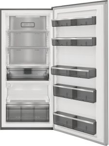 """FPRU19F8WF Frigidaire Professional 33"""" Built In Upright Counter Depth All Refrigerator - Smudge Proof Stainless Steel"""