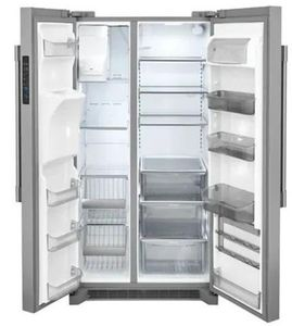 """FPSC2278UF Frigidaire 36"""" Professional Side by Side 22 Cu. Ft. Counter Depth Refrigerator with SpaceWise Organization System and PureAir Ultra Filtration System - Smudge Proof Resistant Stainless Steel"""