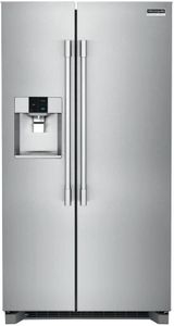 "FPSC2278UF Frigidaire 36"" Professional Side by Side 22 Cu. Ft. Counter Depth Refrigerator with SpaceWise Organization System and PureAir Ultra Filtration System - Smudge Proof Resistant Stainless Steel"