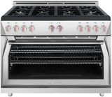 """FR488GN Forza 48"""" Professional Gas Range - Stainless Steel"""