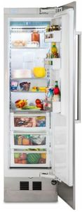 "FRI7240WR Viking 24"" Professional 7 Series Built In Column Counter Depth All Refrigerator with BlueZone Fresh Preservation Technology and SpillProof Plus Shelves - Right Hinge - Custom Panel"