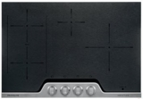 Frigidaire Electric Cooktops BLACK, STAINLESS STEEL TRIM