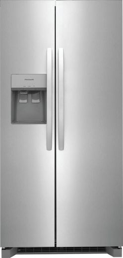 """FRSS2323AS Frigidaire 33"""" Side By Side 22.2 Cu. Ft. Refrigerator - Stainless Steel"""
