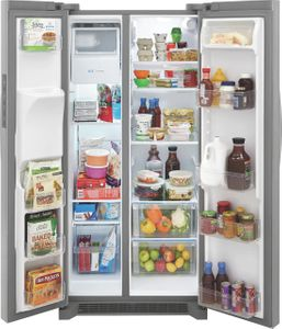"""FRSS2333AS Frigidaire 33"""" Side By Side 22.2 Cu. Ft. Refrigerator - Stainless Steel"""