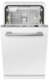 "G4780SCVI Miele 18"" Fully Integrated Dishwasher with QuickIntenseWash and AutoSensor Technology - Custom Panel -OPEN BOX"