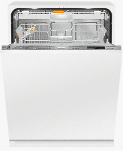 """G6880SCVI Miele 24"""" Lumen Series Built In Fully Integrated Dishwasher with Knock2Open  and AutoSensor Technology - Custom Panel -OPEN BOX"""