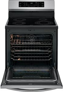 """GCRI3058AF Frigidaire Gallery 30"""" Freestanding Induction Range Air Fry - SmudgeProof Stainless Steel"""