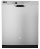 "GDF530PSMSS GE 24"" Built-In Dishwasher with Front Controls and Dry Boost - Stainless Steel"