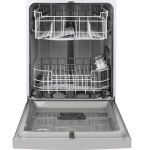 """GDF530PSMSS GE 24"""" Built-In Dishwasher with Front Controls and Dry Boost - Stainless Steel"""