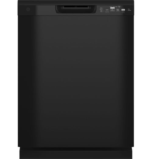 GDF535PGRBB GE Dishwasher with Front Controls - Black