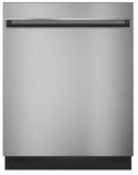"GDT225SSLSS GE 24"" Built In Dishwasher with Autosense Cycle and 3 Level Wash - Stainless Steel"