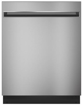 """GDT225SSLSS GE 24"""" Built In Dishwasher with Autosense Cycle and 3 Level Wash - Stainless Steel"""