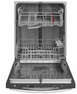 """GDT635HSMSS GE 24"""" Hybrid Stainless Steel Interior Dishwasher with Hidden Controls and Wifi - Stainless Steel"""