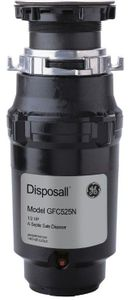 GFC525N GE Continuous Feed Disposer with 1/2 Horse Power and SplashGuard - Black