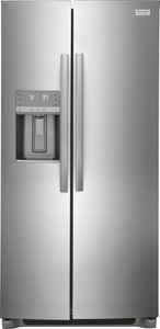 """GRSC2352AF Frigidaire Gallery 36"""" 22.2 Cu. Ft. Counter Depth Side by Side Refrigerator - Smudge-Proof Stainless Steel"""
