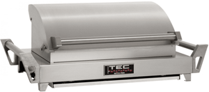 GSRLPFR TEC G-Sport FR Portable Infrared Propane Gas Grill with Self Cleaning Cooking Surface and Rapid 10-Minute Heat-Up - Liquid Propane - Stainless Steel