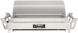 GSRLPFR TEC G-Sport FR Portable Infrared Propane Gas Grill with Self Cleaning Cooking Surface and Rapid 10-Minute Heat-Up - Stainless Steel
