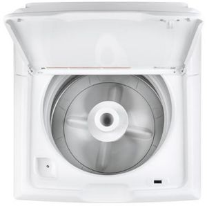 GTW335ASNWW GE 4.2 cu. ft. Capacity Washer with Stainless Steel Basket and Heavy Duty Agitator - White