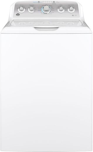 GTW500ASNWS GE 4.6 cu. ft. Capacity Washer with Deep Rinse and Strain Pretreat - White