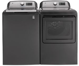 """GTW720BPNDG GE 27"""" Top Load 4.8 cu. ft. Capacity Washer with QuietWash and Tide PODS Dispense - Diamond Gray"""