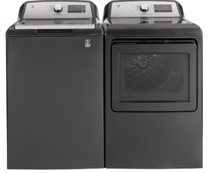 """GTW845CPNDG GE 27"""" Top Load 5.0 cu. ft. Capacity Washer with SmartDispense Technology and Wifi - Diamond Gray"""