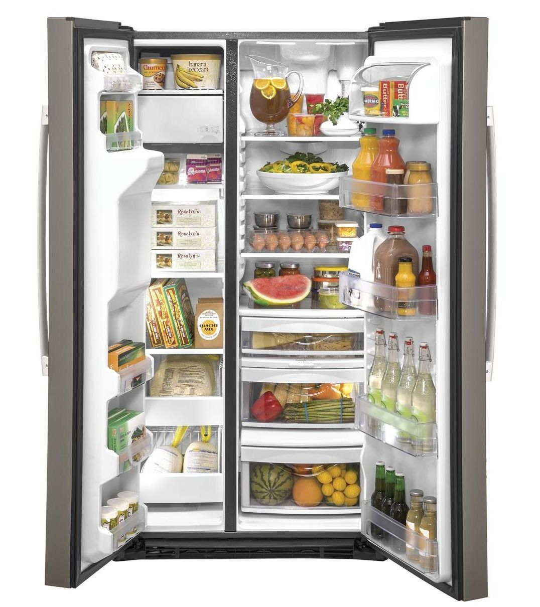 Gzs22imnes Ge 36 Quot Counter Depth Side By Side Refrigerator