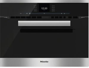 "H6600BMSS Miele 24"" PureLine SensorTronic Speed Oven with Rapid Preheat - Stainless Steel -OPEN BOX"