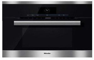"""H6870BMSS Miele 30"""" PureLine Speed Oven with Rapid Preheat and SensorTronic Controls - Stainless Steel -OPEN BOX"""