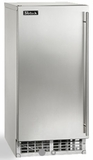 "H80CIMSADL Perlick 15"" ADA Compliant Cubelet Left Hinge Ice Maker with Nugget Shaped Ice and 22 lbs of Storage Capacity - Stainless Steel"