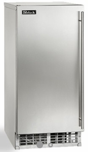"""H80CIMSADR Perlick 15"""" ADA Compliant Cubelet Right Hinge Ice Maker with Nugget Shaped Ice and 22 lbs of Storage Capacity"""