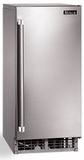 "H80CIMSL Perlick 15"" Signature Series Cubelet Ice Maker with Nugget Shaped Ice and 22 lbs of Storage Capacity - Left Hinge - Stainless Steel"