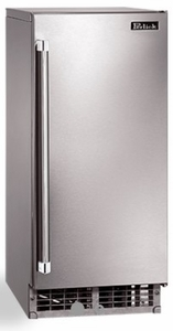 "H80CIMSR Perlick 15"" Signature Series Cubelet Ice Maker with Nugget Shaped Ice and 22 lbs of Storage Capacity - Right Hinge - Stainless Steel"