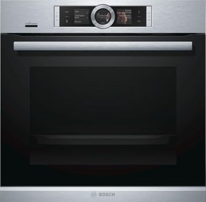 """HBE5452UC Bosch 24"""" 500 Series Single Wall Oven With European Convection and EcoClean - Stainless Steel"""