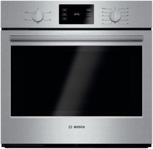 "HBL5351UC Bosch 500 Series 30"" Single Electric Wall Oven with Thermal Cooking - Stainless Steel"
