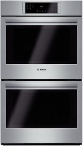 """HBL8651UC Bosch 800 Series 30"""" Double Electric Wall Oven with European Convection - Stainless Steel"""