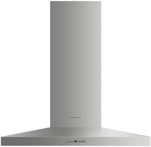 "HC36PHTX1N Fisher & Paykel 36"" Pyramid Wall Mounted Chimney Hood with 600 CFM Blower - Stainless Steel"