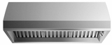 """HCB4812N Fisher & Paykel 48"""" Professional Range Dual Blower Hood with 1200 CFM and Edge To Edge Filters -  Stainless"""