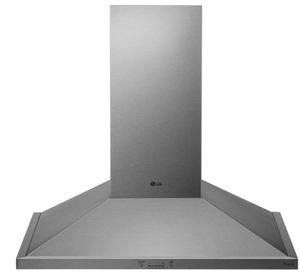 """HCED3015S LG 30"""" Wall Mount Chimney Range Hood with 600 CFM WiFi Capabilities - Stainless Steel"""