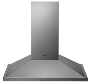 "HCED3615S LG 36"" Wall Mount Chimney Range Hood with 600 CFM WiFi Capabilities - Stainless Steel"