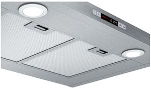 "HCP30E52UC Bosch 30"" 300 Series Wall Mounted Pyramid Canopy Chimney Hood with 300 CFM and LCD Display - Stainless Steel"