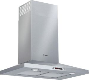 """HCP30E52UC Bosch 30"""" 300 Series Wall Mounted Pyramid Canopy Chimney Hood with 300 CFM and LCD Display - Stainless Steel"""