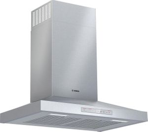 """HCP50652UC Bosch 500 Series 30"""" Pyramid Canopy Chimney Hood with 600 CFM and Home Connect - Stainless Steel"""