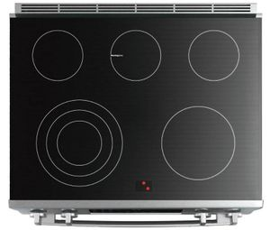 "HEIP056U Bosch 30"" Benchmark Series Electric Slide-in Range with Touch Controls and Genuine European Convection - Stainless Steel"