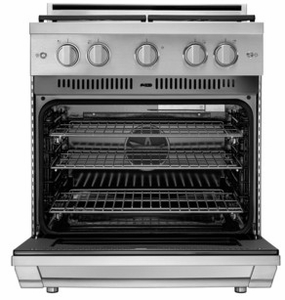 "HGPR30SLP Dacor 30"" Professional Liquid Propane Gas Self Cleaning Pro Range with Pro Handles and High Performance Dual Stacked Burners - Stainless Steel"