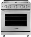 "HGPR30SNG Dacor 30"" Professional Natural Gas Self Cleaning Pro Range with Pro Handles and High Performance Dual Stacked Burners - Stainless Steel"